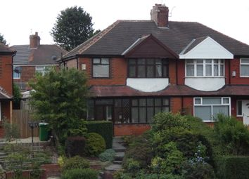 Thumbnail 3 bed semi-detached house for sale in Rochdale Road, Blackley, Manchester
