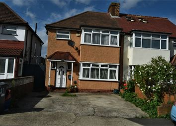 Thumbnail 3 bed semi-detached house for sale in Yew Tree Walk, Hounslow, Greater London