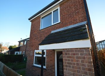 Thumbnail 2 bed end terrace house for sale in Field Close, Littlethorpe, Leicester