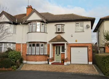 Thumbnail 4 bed semi-detached house for sale in The Chase, Eastcote, Pinner