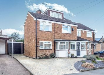 Thumbnail 3 bed semi-detached house for sale in Okehampton Road, Styvechale, Coventry