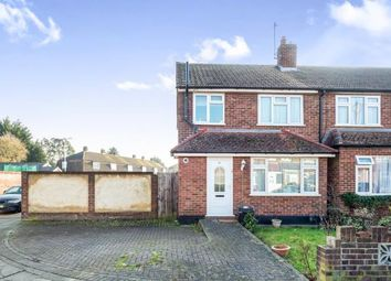 Thumbnail 3 bed end terrace house for sale in Collier Row, Romford, Essex