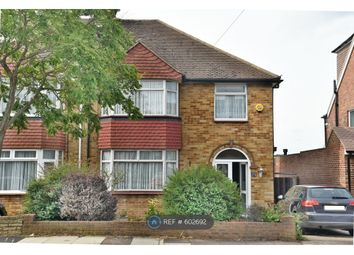 Thumbnail 3 bed semi-detached house to rent in Greystoke Avenue, Pinner