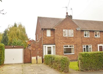 Thumbnail 2 bed end terrace house for sale in Southfield Crescent, Thanet Road, York