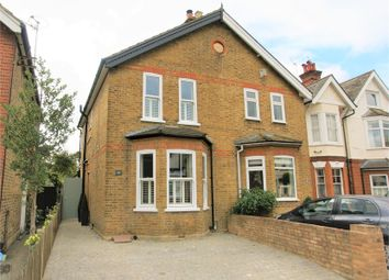 Thumbnail 3 bed semi-detached house for sale in 186 Hersham Road, Hersham, Walton-On-Thames, Surrey