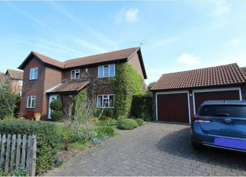 Thumbnail 4 bed detached house for sale in Balmoral Way, Belmont, Sutton