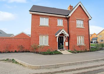 Thumbnail 3 bed semi-detached house for sale in Norcott Mead, Shortstown, Bedford