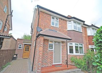Thumbnail 4 bed semi-detached house to rent in Grimwood Road, Twickenham