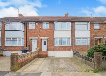 Thumbnail 3 bed terraced house for sale in Halsbury Road, Broadwater, Worthing