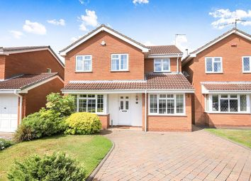 Thumbnail 4 bed detached house for sale in St. Mawes Road, Perton, Wolverhampton