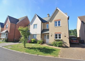 Thumbnail 3 bed town house for sale in James Wadsworth Close, Over, Cambridge