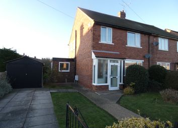 Thumbnail 3 bed semi-detached house for sale in Lauder Road, Doncaster