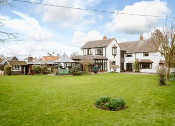Thumbnail 4 bedroom detached house for sale in Lutton, Peterborough