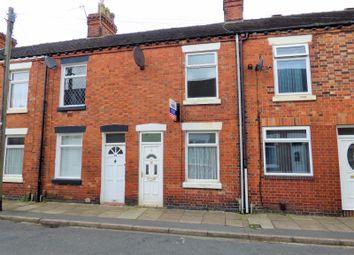 Thumbnail 3 bed terraced house to rent in Brakespeare Street, Stoke-On-Trent