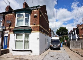 Thumbnail 2 bed end terrace house for sale in Manvers Street, Hull
