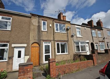 Thumbnail 3 bed terraced house for sale in Swanwick Road, Leabrooks