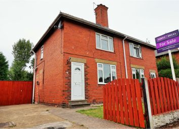 Thumbnail 2 bed semi-detached house for sale in Sandal Road, Conisbrough, Doncaster