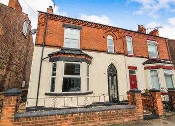 Thumbnail 4 bedroom semi-detached house for sale in Ashwell Street, Netherfield, Nottingham