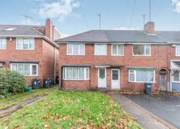 Thumbnail 3 bed end terrace house for sale in Beeches Road, Birmingham, West Midlands, .