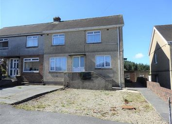Thumbnail 4 bed semi-detached house for sale in B, Tir Becca, Tumble, Llanelli