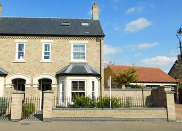 Thumbnail 3 bed semi-detached house for sale in Nightingale Way, Fairfield, Hitchin, Herts