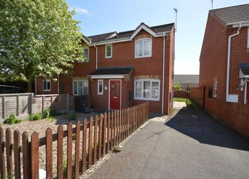 Thumbnail 2 bed semi-detached house for sale in Ambleside Drive, Glen Parva, Leicester