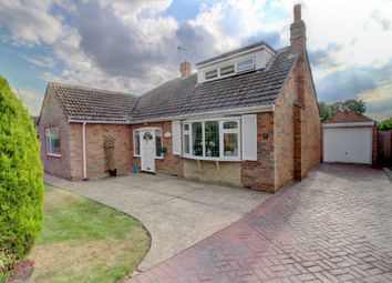 Thumbnail 3 bed bungalow for sale in Fairfield Drive, Messingham, Nr. Scunthorpe