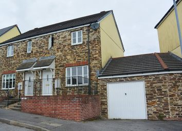 Thumbnail 3 bed semi-detached house to rent in Poltair Meadow, Penryn