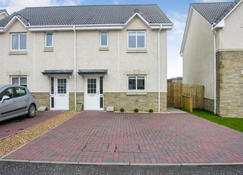 Thumbnail 3 bed semi-detached house for sale in Cotland Drive, Meadowcroft, Falkirk