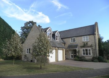 Thumbnail 5 bedroom detached house for sale in Laxton Drive, Oundle, Peterborough