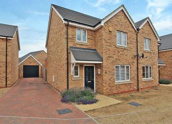Thumbnail 3 bed semi-detached house for sale in Keeley Croft, Shortstown, Bedford