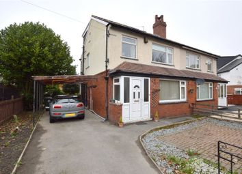 Thumbnail 4 bed semi-detached house for sale in Gipton Wood Road, Oakwood, Leeds