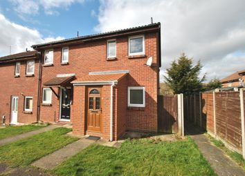 Thumbnail 2 bed end terrace house to rent in Sanderling Close, Letchworth Garden City