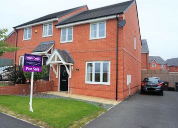 Thumbnail 3 bed semi-detached house for sale in Torside Grove, Stoke-On-Trent