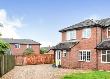 Thumbnail Semi-detached house for sale in Deerfield Close, Buckingham