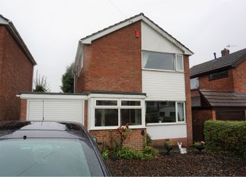 Thumbnail 3 bedroom detached house for sale in Westonfields Drive, Westonfields, Stoke-On-Trent