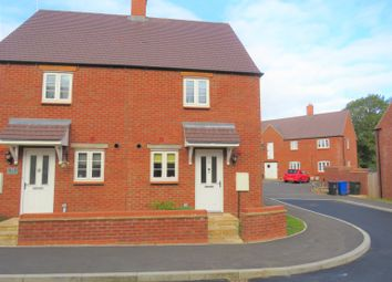 Thumbnail 2 bed semi-detached house for sale in Roade, Northamptonshire