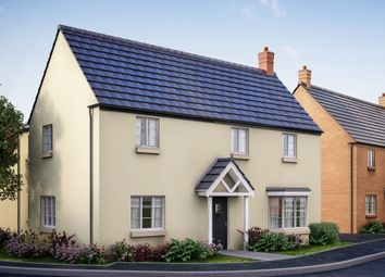 """Thumbnail 4 bed detached house for sale in """"The Astcote"""" at Former Sawmills, Northampton Road, Brackley"""