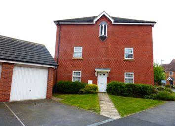 Thumbnail 3 bed town house for sale in Johnsons Road, Fernwood, Newark