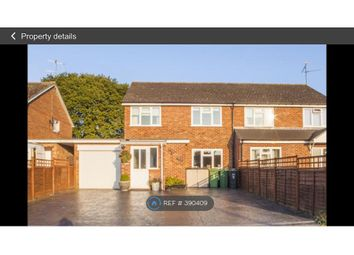 Thumbnail 4 bed semi-detached house to rent in Ashlee Walk, Woodcote, Reading