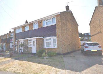 Thumbnail 3 bed semi-detached house to rent in Surridge Close, Rainham