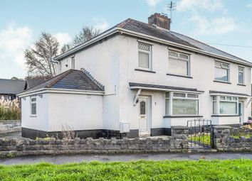 Thumbnail 3 bed semi-detached house for sale in Tyla Road, Briton Ferry, Neath
