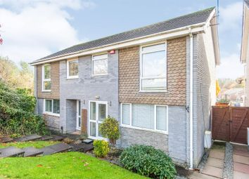 Thumbnail 3 bed semi-detached house for sale in Ogwell Mill Road, Newton Abbot