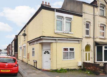 Thumbnail 2 bed end terrace house for sale in Hall Street, Burslem, Stoke-On-Trent