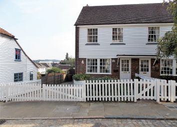 Thumbnail 3 bed semi-detached house for sale in High Street, Upper Upnor, Rochester
