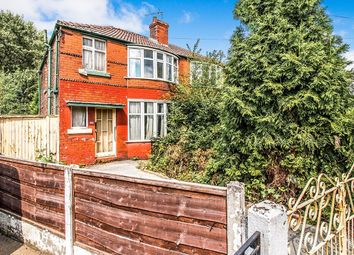 Thumbnail 3 bed semi-detached house for sale in Mornington Crescent, Fallowfield, Manchester