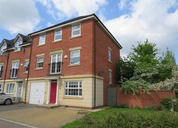 Thumbnail 4 bed town house for sale in Haddon Way, Loughborough