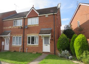 Thumbnail 2 bed end terrace house for sale in Thomson Close, Rugby