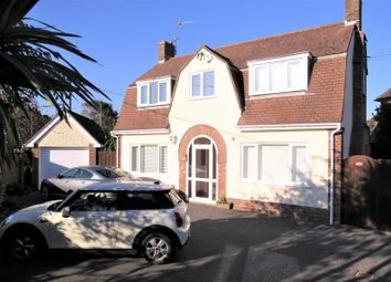 Thumbnail 3 bed detached house for sale in Naish Road, Barton On Sea, New Milton