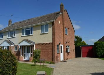 Thumbnail 3 bed semi-detached house for sale in York Avenue, Cogenhoe, Northampton